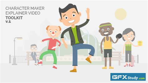 Videohive Character Maker Explainer Video Toolkit Free Download 187 Gfxstudy All Graphic Explainer Templates After Effects