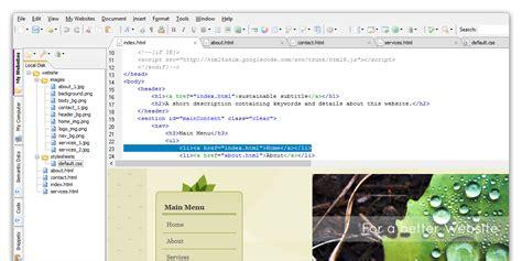 web design html editor software free html editor coffeecup software