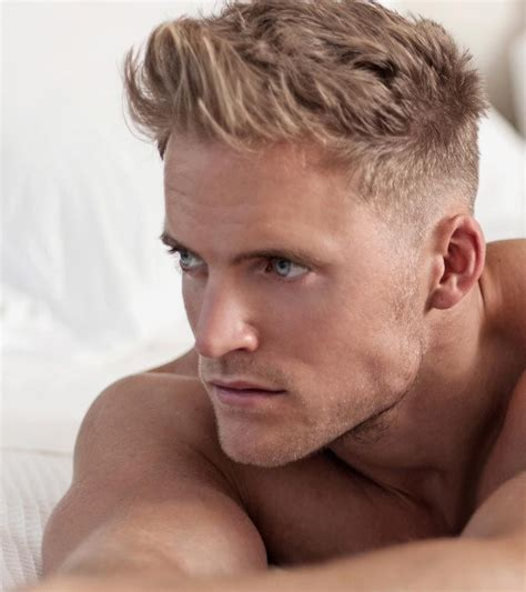 hairstyles blonde male best 45 blonde hairstyles for men in 2018 side fade