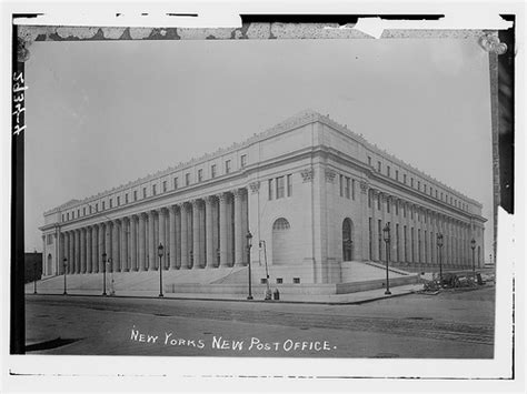 Post Office 34th by Nyc Circa The Farley Post Office Building