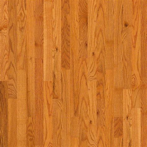 Solid Oak Hardwood Flooring 3 1 4 Quot Solid Oak Hardwood Flooring In Caramel Wayfair