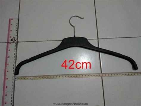 Hanger Gantungan Baju Hanger Plastik peralatan display untuk baju gawang baju fs rantai