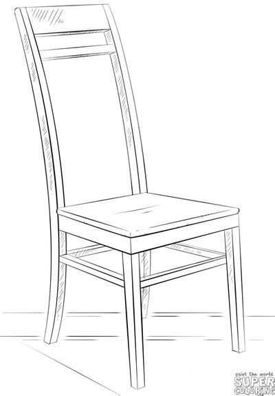 pencil sketches of chairs how to draw a chair step by step drawing tutorials