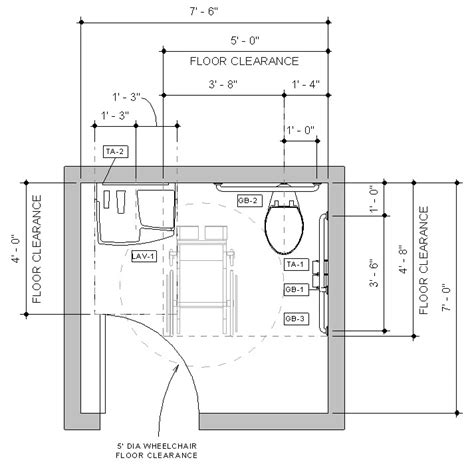pre built revit accessible toilet room sle model