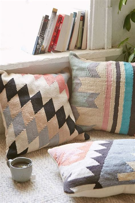 Outfitters Pillows by Plum Bow Andanda Kilim Pillow Outfitters Pastel