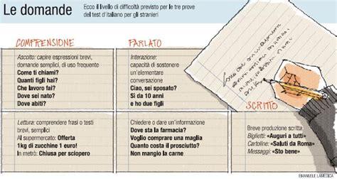 test d italiano corriere della sera test d italiano per stranieri