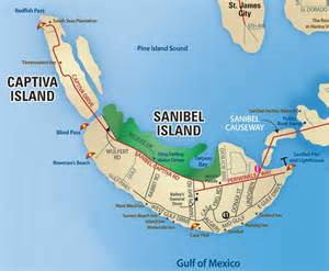 map of florida and islands sanibel island fl the world s best shelling beaches