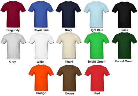 Color Tshirt men s colored t shirts artee shirt