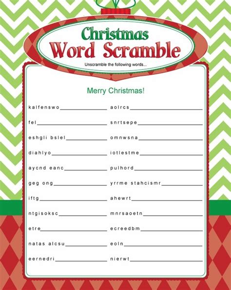 printable christmas games and activities christmas activities for kids 20 free printable games