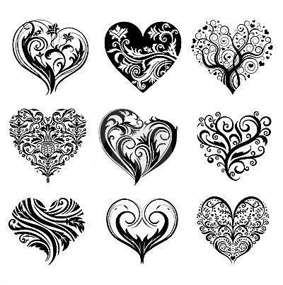 tattoos de corazones corazon plantilla buscar con tatuajes