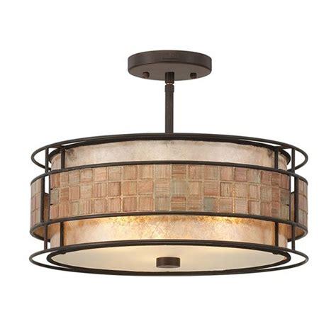 semi flush kitchen light fixtures laguna mica semi flushmount ceiling light mc842src