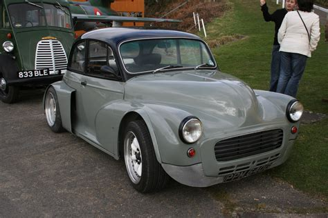 Handmade Cars Uk - custom morris minor at brooklands rally surrey uk 8 3 09