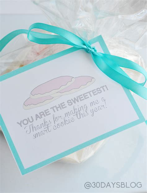 30 Handmade Days - you are the sweetest printable tag by thirty handmade days