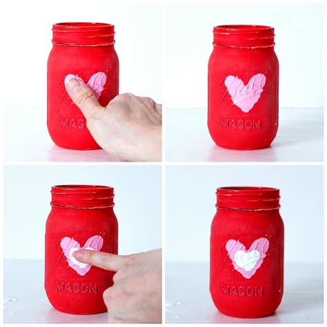 jar crafts for kid craft thumbprint jars it all started