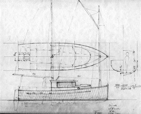 motor sailer boat plans 26 queen charlotte motorsailer cat schooner sail boats