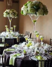 Tall Floral Vases Wholesale Martini Vases White And Green Centrepiece стекло