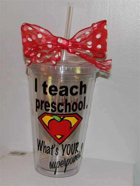 christmas gift for kindergarten teacher personalized preschool gift preschool gift
