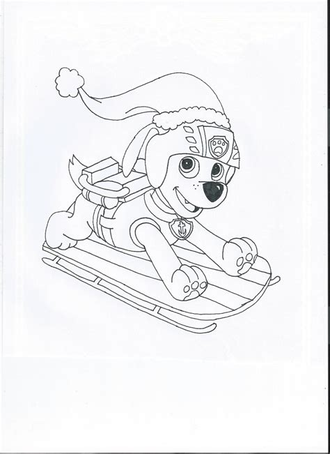 christmas coloring pages paw patrol paw patrol christmas zuma by pawpatrolfan66 on deviantart