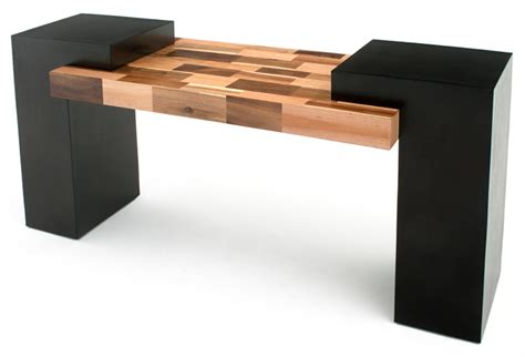 unique modern wooden sofa table contemporary rustic console