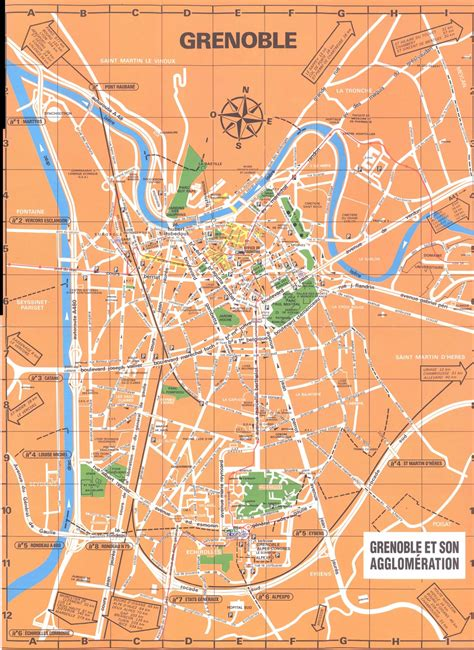 map of grenoble large grenoble maps for free and print high
