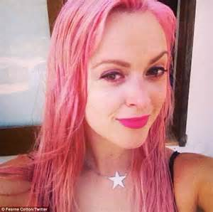 what blonde cor can be put over light ginger fearne cotton revisits last year s hottest hair trend as