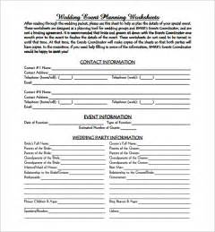 template for planning an event event planning template 5 free word pdf documents