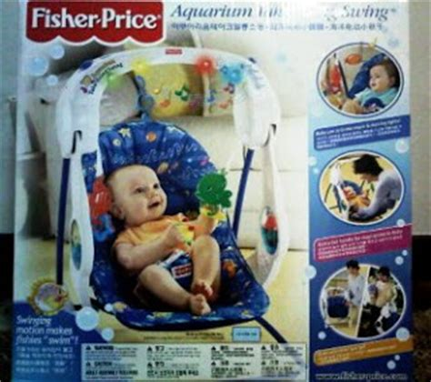fisher price aquarium take along swing useditem2