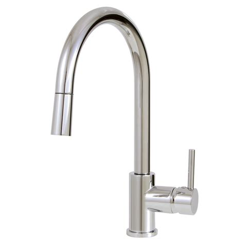 aquabrass pull single mode kitchen faucet
