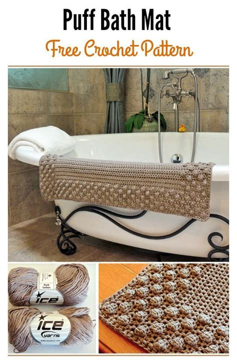 using a rug pad eith a bath mat 17 best ideas about crochet mat on crochet
