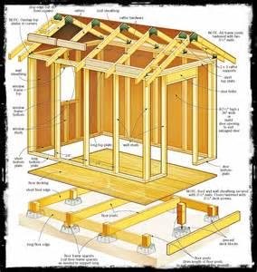 diy werk popular shed plans 6 x 12