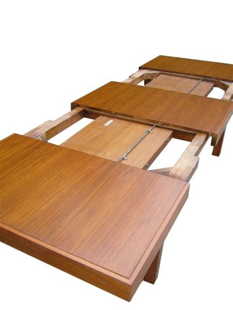 expandable table expandable dining table by george nelson for herman miller at 1stdibs