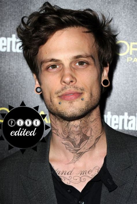 matthew gray gubler tattoo edits matthew gray gubler