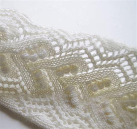 knit lace pattern knitted lace pattern with nupps pattern duchess