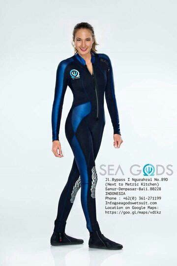 Wetsuit 3mm Custom By Seagods nadine chandrawinata with customized wetsuit special designed for by sea gods