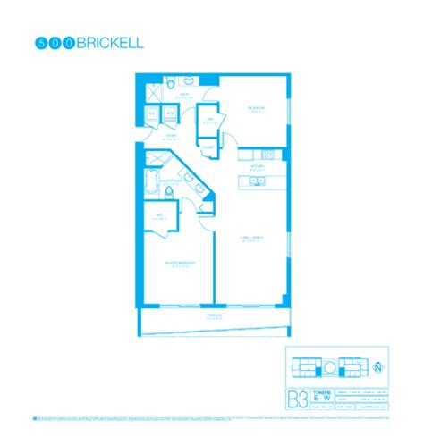 500 Brickell Floor Plans by 500 Brickell Site Plan And Floor Plans In Brickell Miami