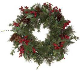 solar powered 24 quot prelit winterberry wreath page 1 qvc com