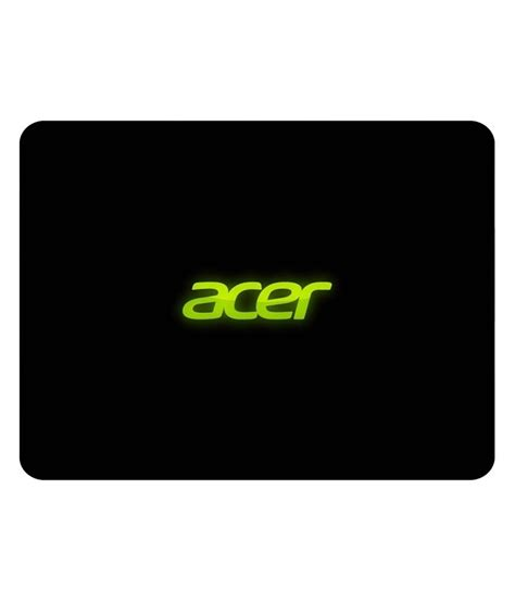 Mouse Pad Acer Shopkeeda Acer On Black Background Mouse Pad Buy Shopkeeda Acer On Black Background Mouse Pad