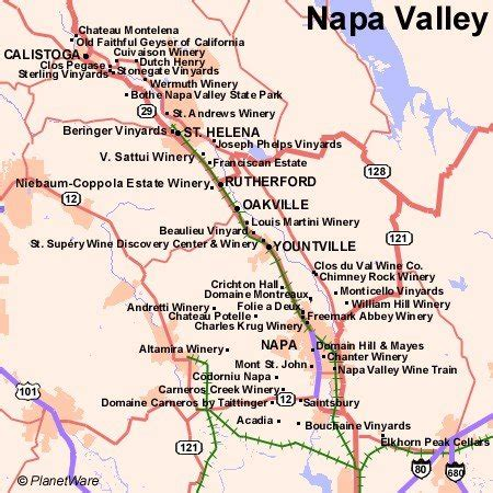 map san francisco to napa valley 17 top tourist attractions in san francisco planetware