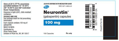 1964 parke davis epilepsy epileptic seizure control ad ndc 0071 0806 neurontin gabapentin