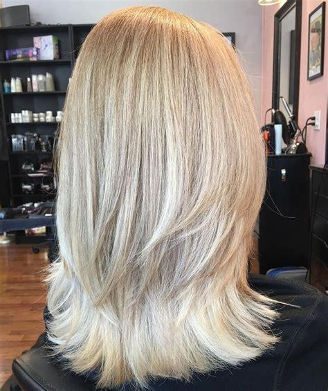 medium length layered haircuts   hair adviser