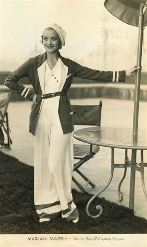 attire for women mid 30s marian marsh c 1932 fashion style 30s lounge wear
