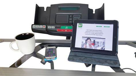 Treadmill With Desk Workstation by Clinton Works On A Treadmill Desk