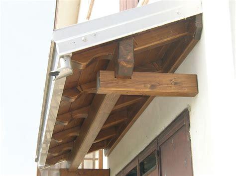 tettoia porta tettoia copri porta a sbalzo ad una falda linea classica