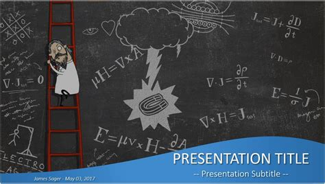 Free Physics Powerpoint 26158 Sagefox Powerpoint Templates Physics Powerpoint Template