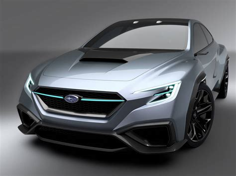 subru car subaru viziv performance concept previews next wrx