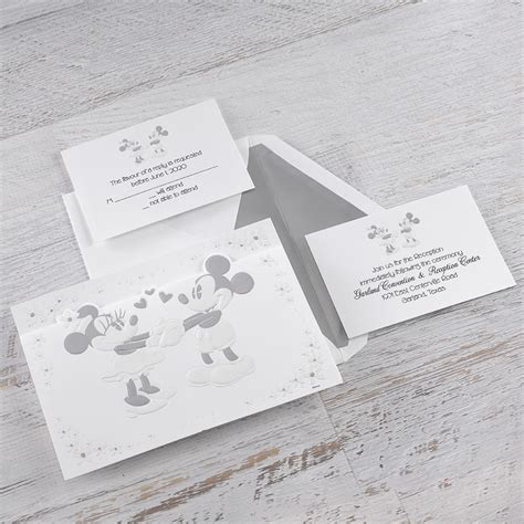 wedding invitation to mickey mouse disney mickey and minnie invitation mickey mouse