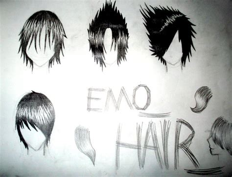 emo hairstyles drawing emo hair by lilystar92 on deviantart