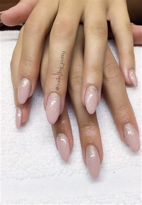 Gel Nails Best 25 Sparkle Gel Nails Ideas On Glitter
