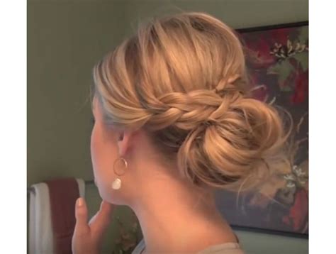 put your hair in a bun with braids trubridal wedding blog 31 easy ways to put your hair up