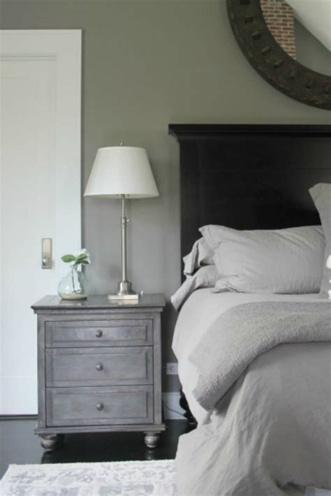 grey paint color decor industrial farmhouse bedroom     lovely